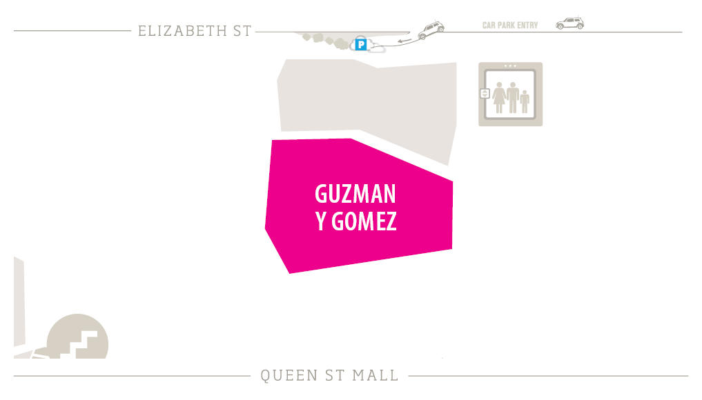 Guzman Y Gomez Zoomed in Map