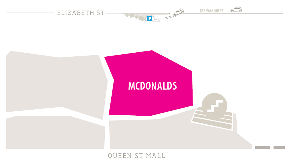McDonalds Zoomed in Map
