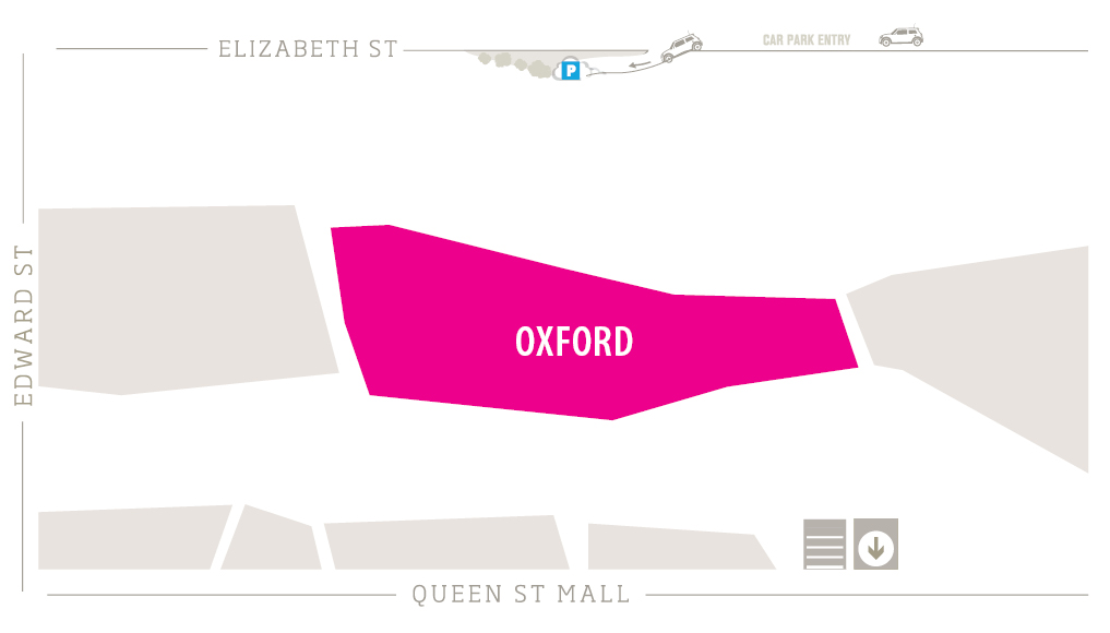 Oxford Zoomed in Map