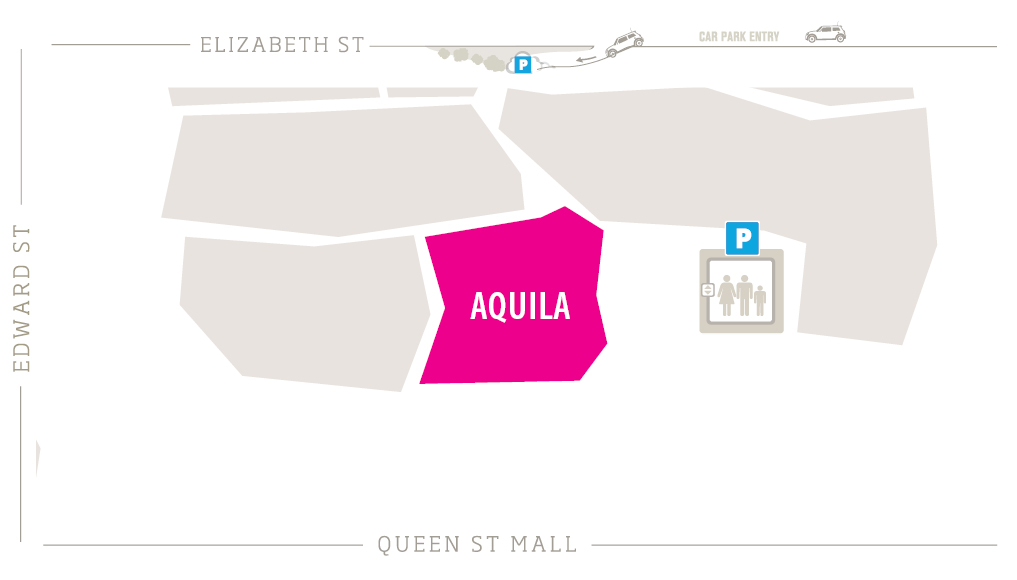 Aquila Zoomed In Map