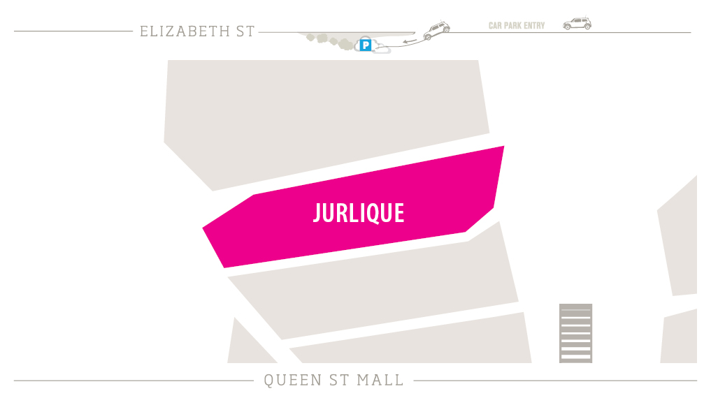 Jurlique Zoomed in Map