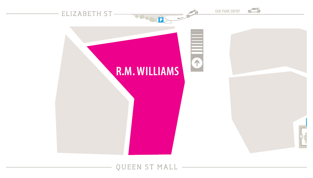 R.M. Williams Zoomed in Map