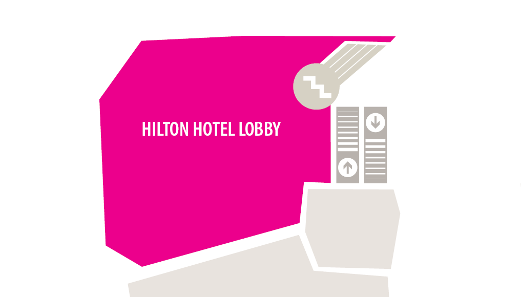 Hilton Zoomed in Map